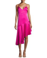 Misha Collection - Madelyn V-neck Dress - Lyst