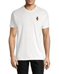 Riot Society - Embroidered Riot Bear Tee - Lyst