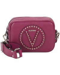 Valentino By Mario Valentino - Mia Studded Leather Shoulder Bag - Lyst