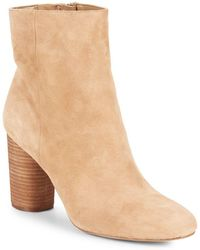143853bca Lyst - Sam Edelman Corra Ankle Boot in Brown
