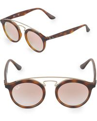 Ray-Ban - 20mm Gatsby Round Sunglasses - Lyst