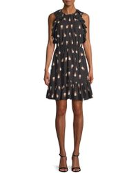 Kate Spade - Pineapple-print Shift Dress - Lyst