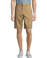 Wesc - Rai Printed Cotton Shorts - Lyst