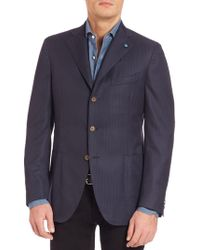Eidos - Wool Solaro Suit Jacket - Lyst