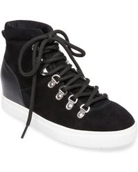 Steven by Steve Madden - Kalea Suede High-top Trainers - Lyst
