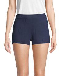 Cosabella - Stretch Ribbed Shorts - Lyst