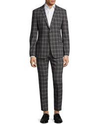 Strellson - Cale Madden Slim Fit Plaid Suit - Lyst