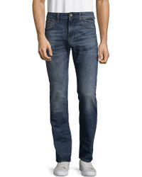 G-Star RAW - Deconstructed Cotton Jeans - Lyst