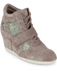 Ash - Bowie Wedge Sneakers - Lyst