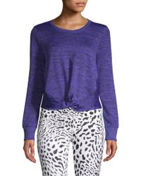 Marc New York - Long-sleeve Knot Jumper - Lyst