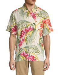 Tommy Bahama Hana Lei Fronds Short-sleeve Print Shirt - Multicolour