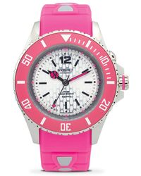 Kyboe - Neon Silicone And Stainless Steel Strap Watch/40mm - Lyst