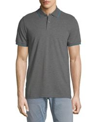 BOSS - Parlay Cotton Polo - Lyst