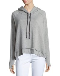 Project Social T - Fashion Heathered Long-sleeve Hoodie - Lyst