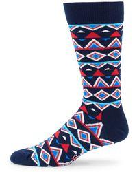 Happy Socks - Temple Crew Socks - Lyst