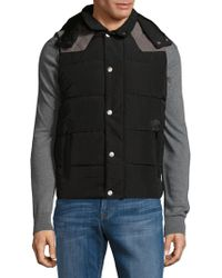 American Stitch - Suede Patch Filled Jacket - Lyst