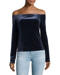 BCBGMAXAZRIA - Alanis Off-the-shoulder Top - Lyst