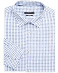 Bugatchi - Shaped-fit Check Dress Shirt - Lyst
