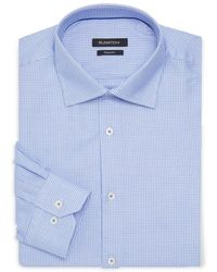 Bugatchi - Shaped-fit Printed Dress Shirt - Lyst