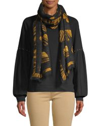 Boutique Moschino - All Of Heart Wool Scarf - Lyst