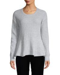 John + Jenn - Roundneck Sweater - Lyst