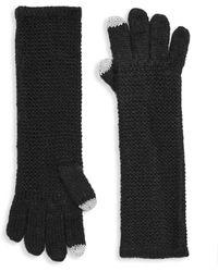 Rebecca Minkoff - Garter Stitch Tech Gloves - Lyst
