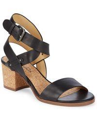 Splendid - Kayman Block Heel Sandals - Lyst