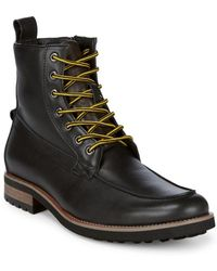 Saks Fifth Avenue - Stow Lace-up Boots - Lyst