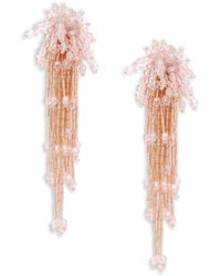 Natasha Couture - Shaky Oversized Drop Earrings - Lyst