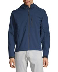 William Rast - Full-zip Hooded Jacket - Lyst