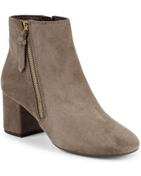Cole Haan - Saylor Suede Ankle Booties - Lyst