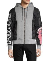 Moschino - Full-zip Hooded Jacket - Lyst