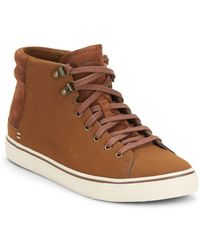 UGG - Hoyt Leather & Suede Trainers - Lyst
