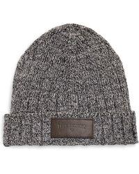 6c91ba9de45 Lyst - True Religion Studded Band Floppy Hat in Brown