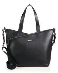 Storksak - Lucinda Leather Diaper Bag - Lyst