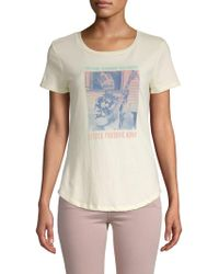 Mimi Chica - Freddie King Messin Cotton Tee - Lyst