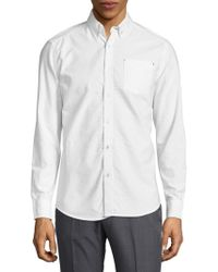 Report Collection - Long-sleeve Button-down Shirt - Lyst
