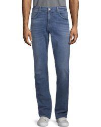 Hudson Jeans - Distressed Denim Jeans - Lyst