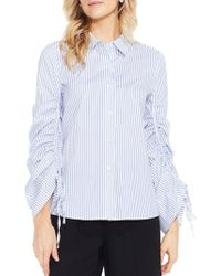 Vince Camuto - Simple Stripe Shirt - Lyst