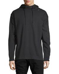 Zanerobe - Tech Hooded Sweatshirt - Lyst