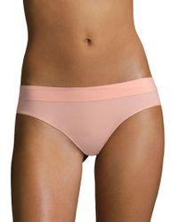 DKNY - Seamless Mid-rise Bikini - Lyst