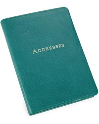 Graphic Image - Leather-bound Address Book - Lyst