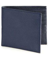 Saks Fifth Avenue - Collection Carbon Fibre Bifold Wallet - Lyst