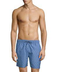 Slate & Stone - Blossom-print Swim Shorts - Lyst