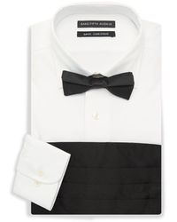 Saks Fifth Avenue - 3-piece Dress Shirt, Bow Tie & Cummerband Set - Lyst