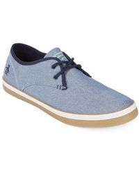 Original Penguin - Lace-up Round Toe Sneakers - Lyst