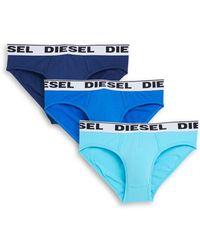 DIESEL - Three-pack Umbr-andre Briefs - Lyst