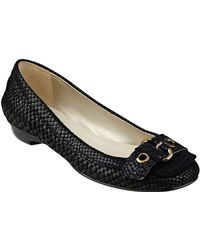 Anne Klein - Mady Patterned Flats - Lyst