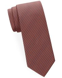 Brioni - Abstract Geometric Silk Tie - Lyst