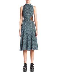 Proenza Schouler - Silk Asymmetric Dress - Lyst